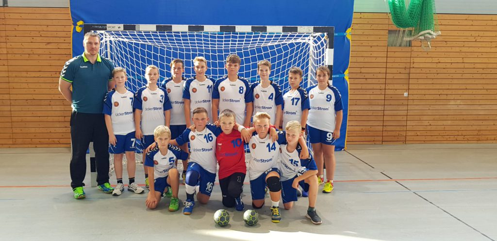 Mannschaftsfoto männliche Jugend D (2017/2018)